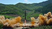 Nordkoreas Raketentest: Russland und China mischen sich ein