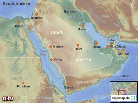 Konflikte zwischen Sunniten und Schiiten: Die Lage auf der arabischen Halbinsel droht zu eskalieren.