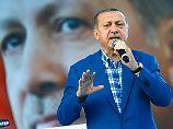 """Erdogan teilt gegen Deutsche aus: """"Sie wachen auf und sagen: Deniz"""""""