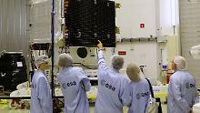 """Gestatten, """"BepiColombo"""": Europa und Japan zeigen ihre Merkur-Sonde"""