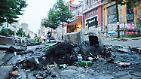 Dutzende Verletzte bei G20-Demo: Die Lage eskaliert schon vor dem Gipfel