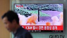 """Verbot von Atomwaffen: """"Dieser Vertrag ist ein erster Schritt"""""""