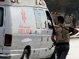 Viele Tote auf Sinai-Halbinsel: Islamisten greifen Armee mit Autobombe an