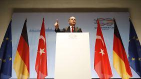 Erdogan stimmt der Abschlusserklärung erst zu und stellt sie dann gleich wieder in Frage.