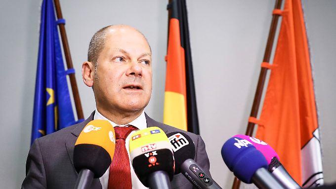 Für Hamburgs Ersten Bürgermeister Olaf Scholz ist der G20-Gipfel nicht gut gelaufen.