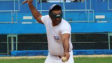 Nationalsport nach Gehör: Wie Blinde in Kuba Baseball spielen