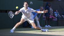 Fans feiern fairen Nadal: Djokovic pflügt durchs Wimbledon-Feld