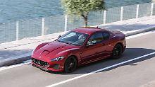 Nur leichte Retuschen gibt es für den Maserati Gran Tourismo nach zehn Jahren.