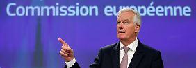 Rüder Ton vor Verhandlungen: EU pocht auf Milliarden-Zahlung bei Brexit