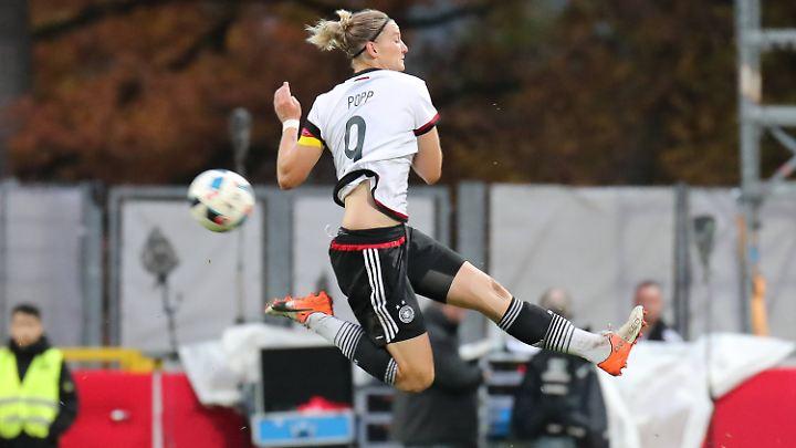 Alexandra Popp fehlt im Aufgebot des DFB - für Schröder ein herber Verlust.