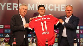"""""""Er wird auch mal Pause machen"""": James heizt Wettkampf im Bayern-Kader an"""