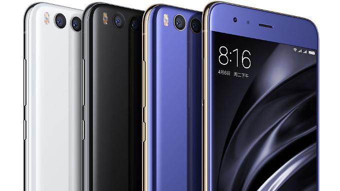 Das Mi 6 ist Xiaomis aktuelles Top-Smartphone.