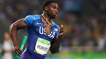 Olympiasieger positiv getestet: Sprintstar entgeht Sperre dank Knutscherei