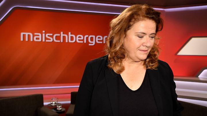 Jutta Ditfurth brachte  Wolfgang Bosbach so in Rage, dass dieser die Sendung empört verließ.