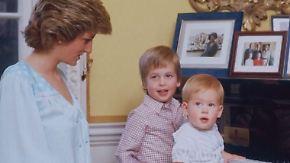 Blick ins private Fotoalbum: William und Harry teilen Erinnerungen an Lady Di