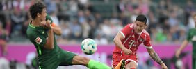 Lockerer Sieg beim Testturnier: James debütiert, FC Bayern dominiert