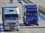 """""""Technologie ist vorhanden"""": Laster könnten viel weniger CO2 ausstoßen"""