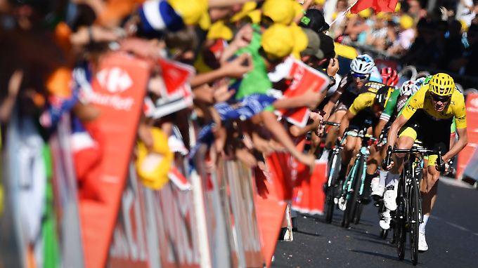 Schock für Froome bei Tour de France: Holländer fährt zu Überraschungssieg auf 15. Etappe