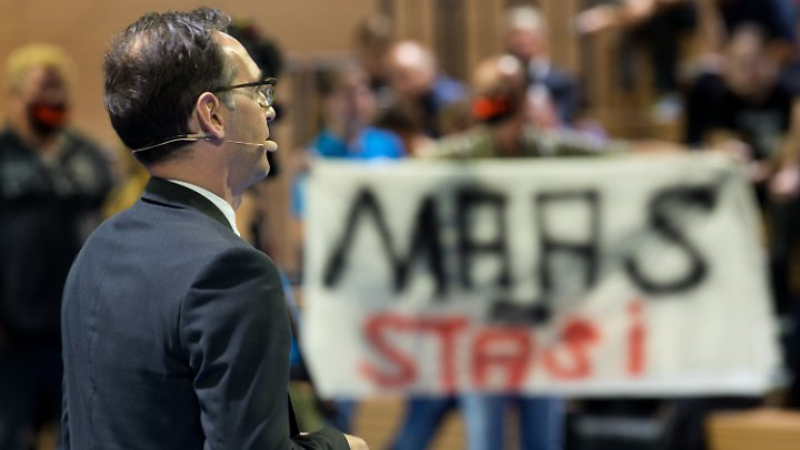 Justizminister Heiko Maas gab sich gelassen.