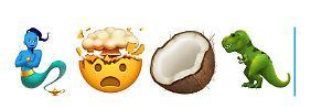 Zombies, Elfen und T. Rex: Apple zeigt seine neuen kuriosen Emojis