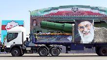 """""""Anhaltende Bedrohung"""": USA verhängen neue Sanktionen gegen Iran"""