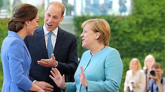 Zu Besuch in Deutschland: Royals polieren britisches Image mit schönen Bildern auf