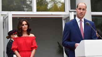 """""""Werden beste Freunde bleiben"""": Kate und William begeistern Berlin"""