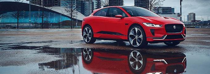 Sprung zur Elektrifizierung: Jaguar erweitert Angebot um SUV