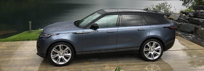 Mit dem Velar schickt Range Rover einen Gegner für den Porsche Macan ins Rennen.