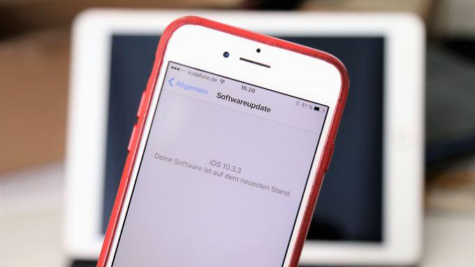 Das Update auf iOS 10.3.3 leistet unscheinbare, aber wichtige Arbeit.