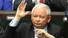 Jaroslaw Kaczynski und seine Partei Recht und Gerechtigkeit (PiS) lehnen die EU-Flüchtlingspolitik ab.