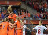 Fußball-EM der Frauen: Niederlande siegen, Norwegen scheidet aus