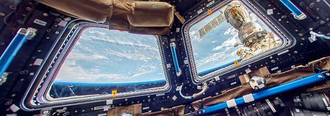 360-Grad-Besuch der  Raumstation: Street View beamt Nutzer auf die ISS