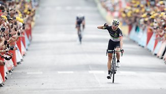 Längste Etappe der Tour de France: Deutscher Sprinter verpasst Sensation