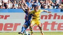 Kleines Revierderby als Test: Dortmund nur Unentschieden gegen Bochum