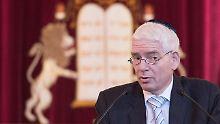 """""""Islamverbände sollten mehr tun"""": Schuster sieht Antisemitismus zunehmen"""