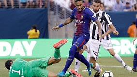 Fußball-Magie beim ICC: Galaktischer Neymar zerlegt Juventus