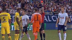 Doppel-Debakel gegen Tottenham: Kevin Trapp patzt und fliegt