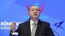 """Türkei ist ein """"Rechtsstaat"""": Erdogan verbittet sich deutsche Vorwürfe"""