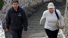 Wandern ist angesagt: Wie deutsche Politiker Urlaub machen