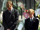 Letztes Gespräch mit Lady Di: William und Harry erinnern sich an Telefonat