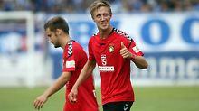 Der Sport-Tag: 3. Liga: Großaspach schlägt Aufstiegskandidat Magdeburg