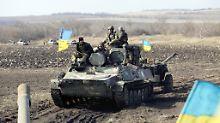Tote bei Gefechten in Ostukraine: Soldaten trotz Waffenruhe beschossen