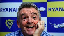 Neun Prozent billigere Tickets: Ryanair verschärft den Preiskampf