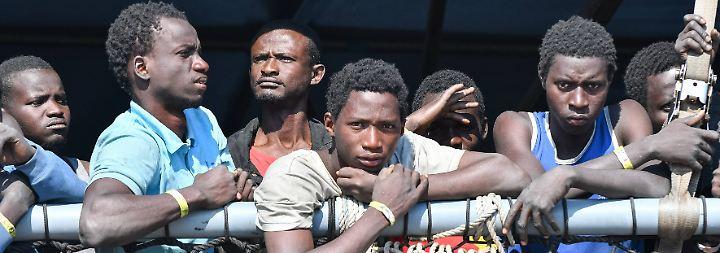 Floskeln statt Hilfe für Italien: Wo die Flüchtlingskrise wieder voll da ist