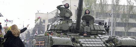 """Treffen zur Ostukraine-Krise: Waffenstillstand """"vollumfänglich umsetzen"""""""