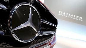 Wer profitiert von Kronzeugenregelung?: Daimler reichte Selbstanzeige offenbar vor VW ein