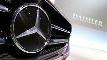 """Der Börsen-Tag: Daimler erholen sich dank """"Whistleblower-Bonus"""""""