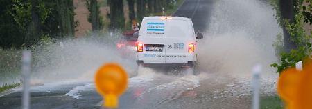 Hochwassergefahr im Harz: Dauerregen flutet Deutschlands Mitte