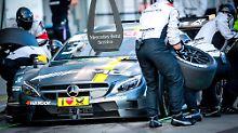 Stop für Mercedes - der Automobilhersteller hat seinen Rückzug aus der DTM angekündigt.